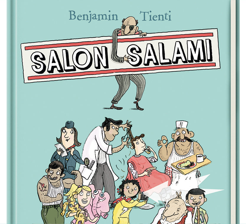 Salon Salami Cover